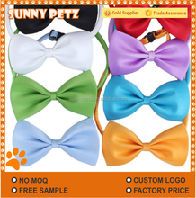 Colourful Polyester Dog Bow Tie For Pets