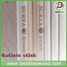 Wooden Nail Manicure Sticks,customized printed cuticle sticks