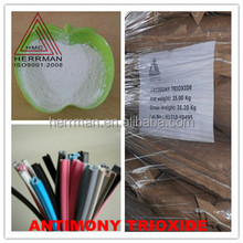 High puity Antimony trioxide Sb2O3 for rubber and plastic
