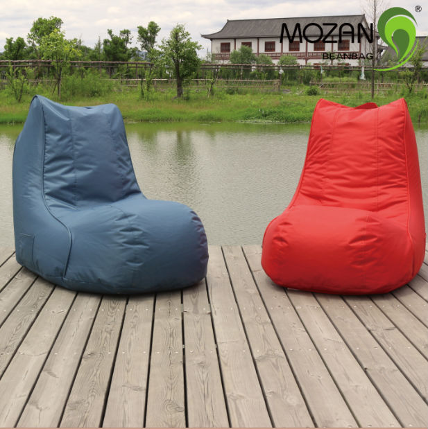 Durable waterproof fabric modern outdoor beach bean bag chair