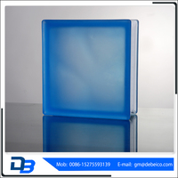 Cheap price colorful hollow diamond wall glass block