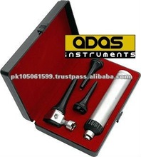 veterinary otoscope with long cannula