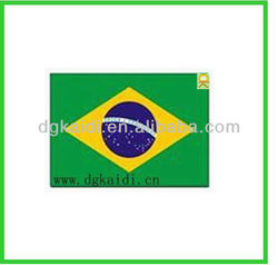 High quality of Brazil fridge magnet flag