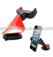 Universal 360 degree rotation phone holder, novelty cell phone holder, suction car holder