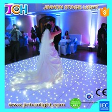 Removable RGBW led wedding night bar starlit dance floor