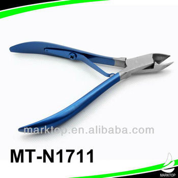 Wholesale colorful electrophoresis nail nipper
