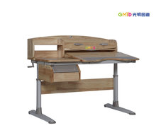 E0 rubber wood study table for teenagers
