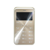 DIHAO 2016 Magic voice Ultra-thin Bluetooth Mobile Phone Credit Card Size Mobile Phone M5 DAXIAN GS6