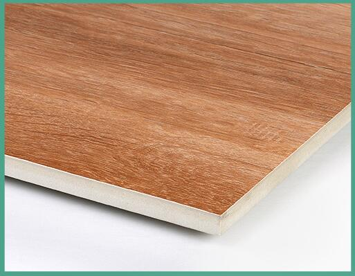 glossy wood porcelain ceramic tiles