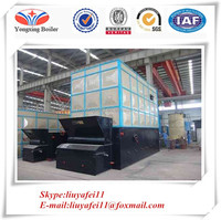 Industrial soft coal fired steam boiler oil boiler thermal / thermal oil heaters supplier