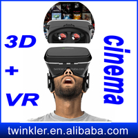 Electronic bluetooth controller for google cardboar High end 3d mp4 hot videos free download Original 3d glasses virtual reality