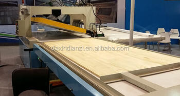 High frequency solid wood bending machine