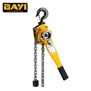light lifting equipment hand lever chain block 360 degree handle rotation
