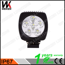 WEIKEN New design 60w auto led working light, offroad truck led work bench light