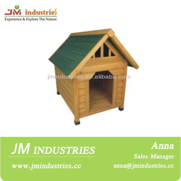 Sloping roof pet houses