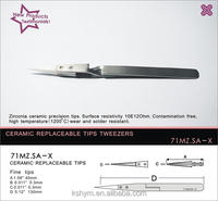 high temperature X tweezers