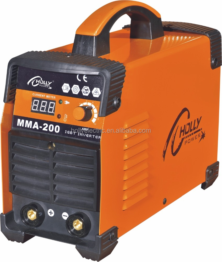 PROTABLE DC INVERTER MACHINE <strong>WELDING</strong> ARC-200Pb5 WITH IGBT AND MOSFET