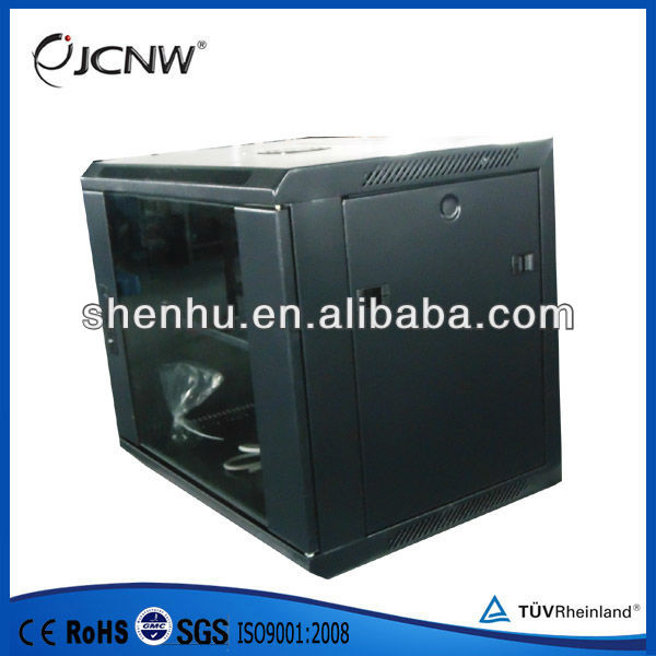 hanging wall cabinet for telecom device
