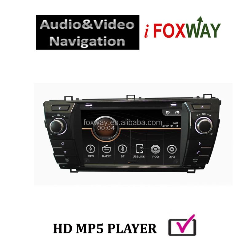 Toyota universal (Hilux/ RAV4/ Old Corolla/ Yaris/ Fortuner/ Innova) Digital Car DVD Player with RDS Radio/GPS/Dual Zone