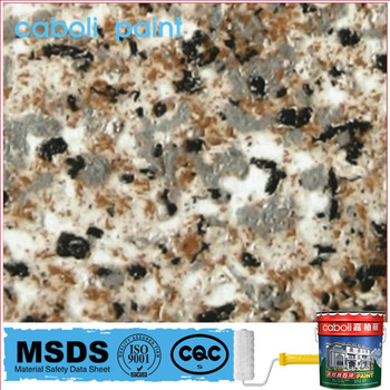 Caboli rock slic imitation granite paint spray