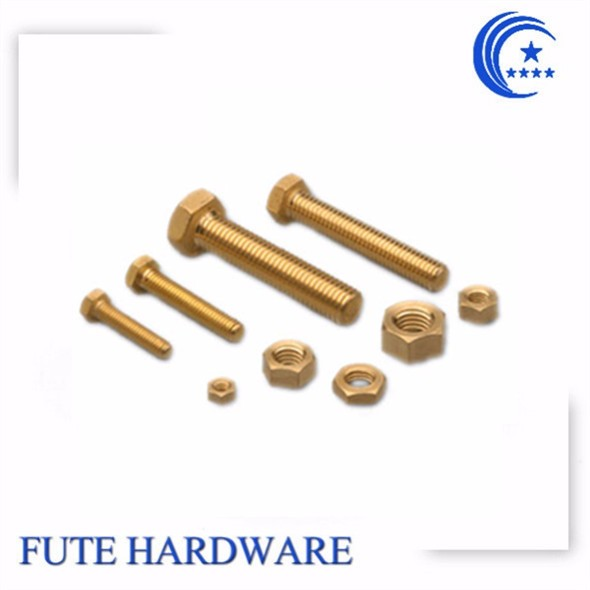 Shenzhen Hardware Different Types Nuts Bolts