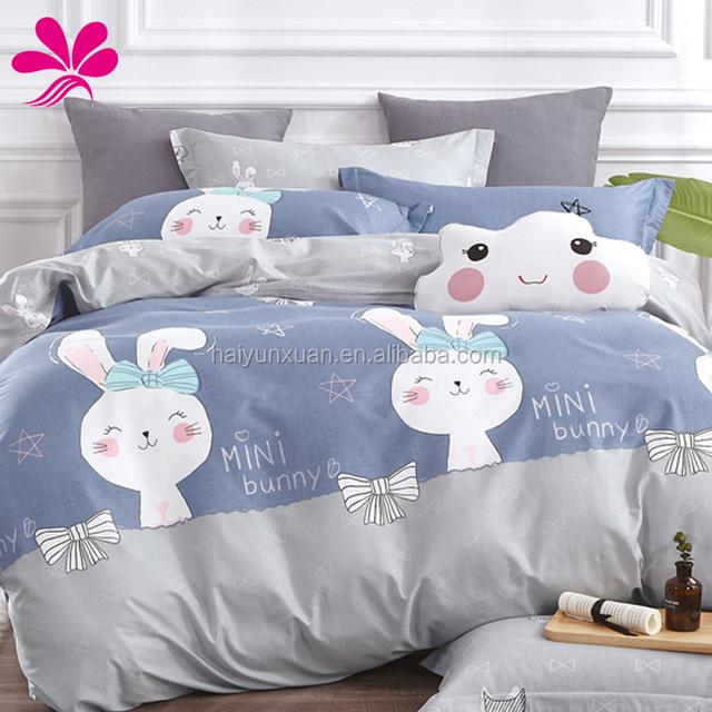 Full Cotton Fabric Plain Bed Sheet Quilt Sets