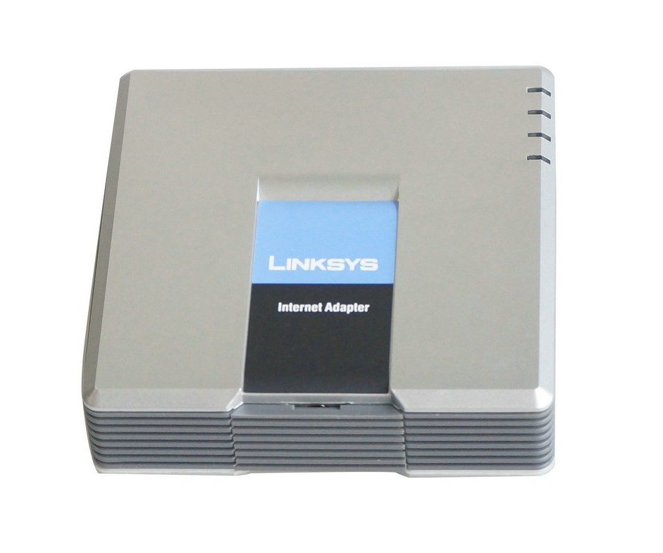 Hot selling !!! Unlocked Linksys pap2t , Voip adapter