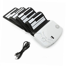Hot sale Digital Electronic Special 61 Keys USB MIDI Electronic Keyboard Hand Roll piano