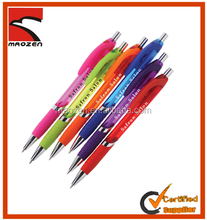 Cheapest promotional plastic ballpen for chirstmas gift
