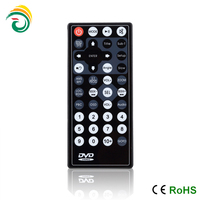 car dvd player universal remote control ultrathin