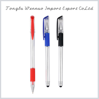 2015 new promotional products durable using pastel gel ink pen