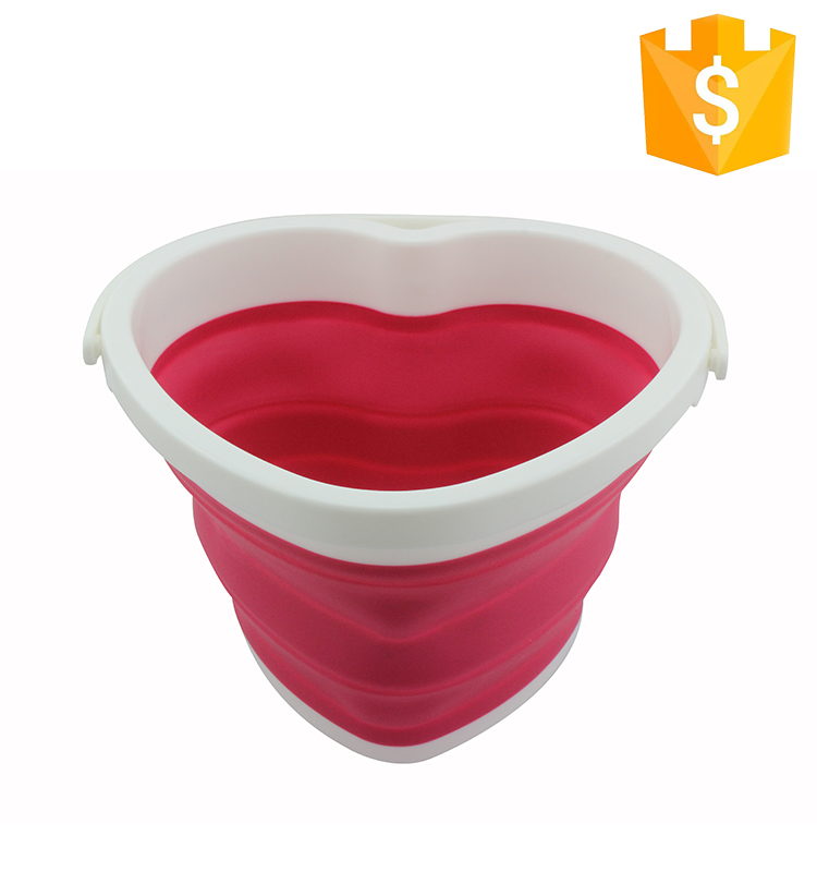 Eco-Friendly Foldable Bucket Silicone Water Folding Bucket Collapsible Bucket