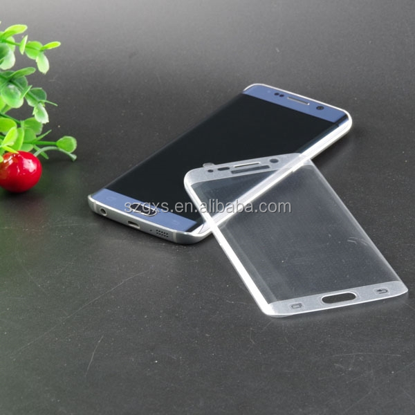 wholesale factory price ,for samsung edge lcd ,9h 2.5d 99% transparency glass laptop screen protector for samsung s6 curve