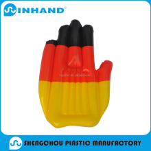 PVC inflatable hand , cheering hands , PE hands/pvc inflatable hand for promotion / inflatable cheering hand for advertising