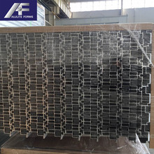 Low Moq aluminum h-shaped profile h profiles beam price