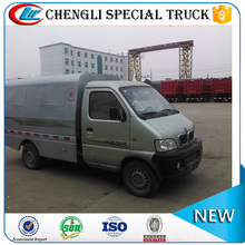 JinBei small sealed garbage truck garbage tank truck for sale
