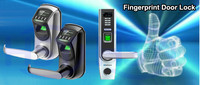 USB Disk back up fingerprint digital door lock