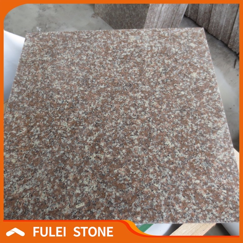 Chinese cheap peach red granite g687 granite tiles 60x60 price philippines