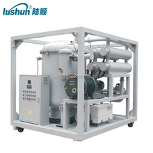 ZJA two stage vacuum system oil recycling equipment for transformer oil purifier machine /oil filtration machine
