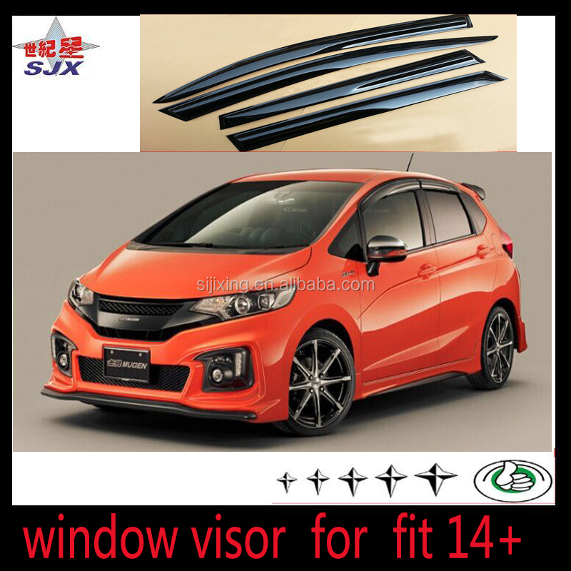 New Acrylic Material Window Visor For Toyota Hilux Revo 2015 Car Exterior Accessories With Injuction Mould Rain Visor Spare Part