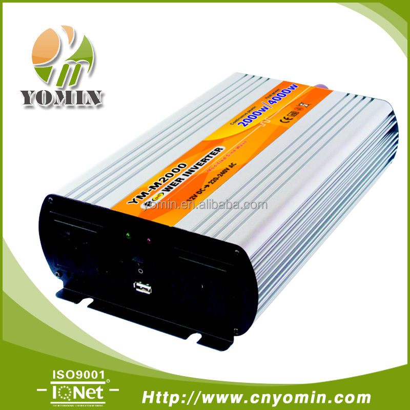 12V 24V 48V dc to ac 110V 220V off grid 2000W modified sine wave power inverter