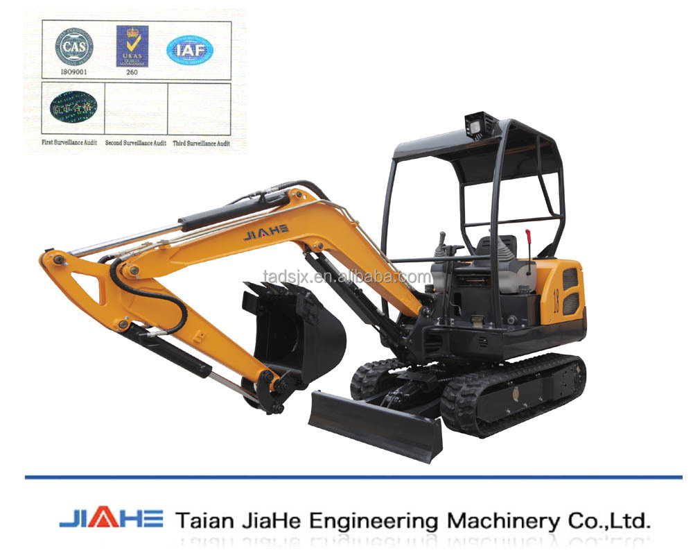 mini crawler excavator hot sale/1.8 ton small farming digger