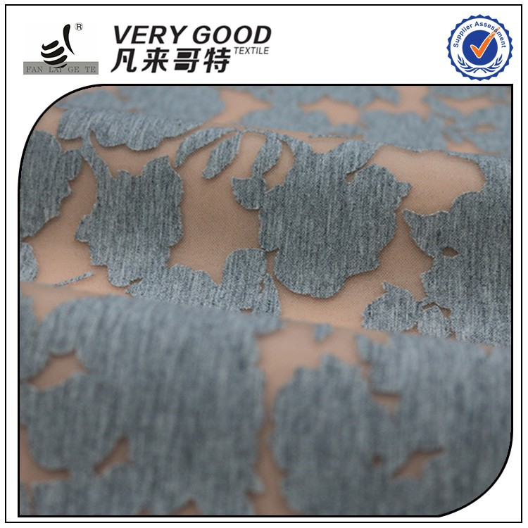 Hot selling knitted scuba double knit fabric, textile fabric printing