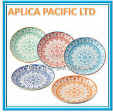 LUXURY PORCELAIN CERAMIC SHOW PLATE