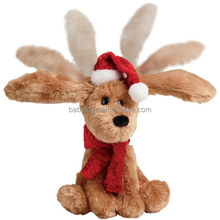 New peluche animals stuffed xmas reindeer toy for christmas decorations