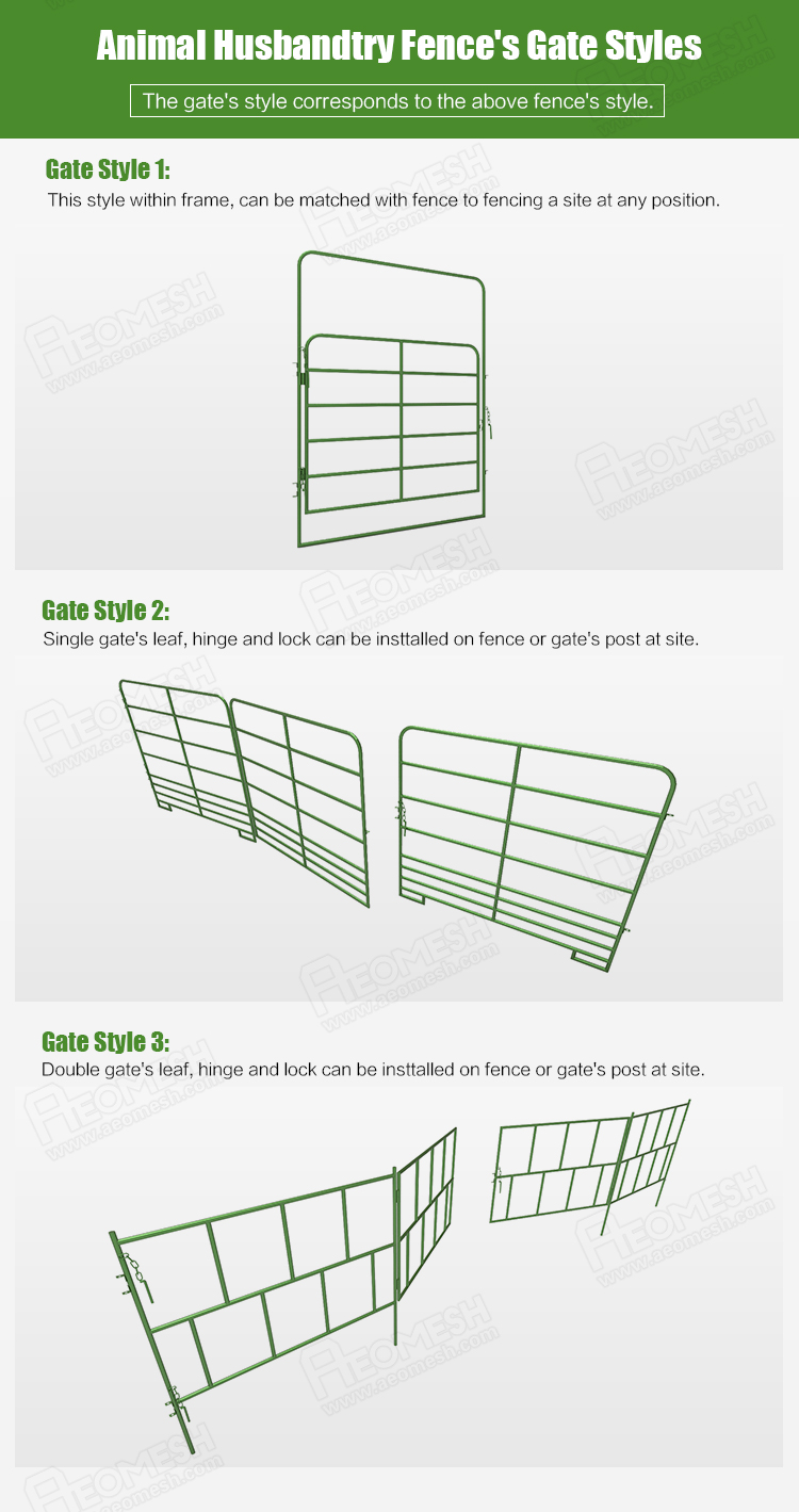 Canton Factory cattle field fence for animal