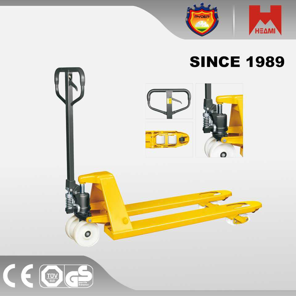high quality hand pallet truck trolley warehouse 2 ton hand pallet truck(sba)