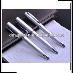 Metal stylish pen mechanism; parker ink refill pen;metal pen for logo