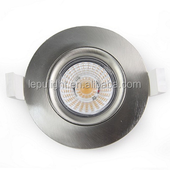 2700k 3000k 4000k 5000k dimmable cob led 8w downlight with 83mm hole IP44 design for north Europe