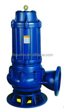 WQ vertical inline non-clog sewage submersible centrifugal pump/Chinese manufacturers/The good quality and the lowest price